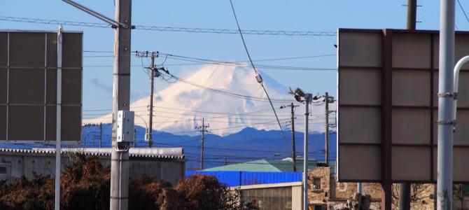 富士山ちょっと太った?