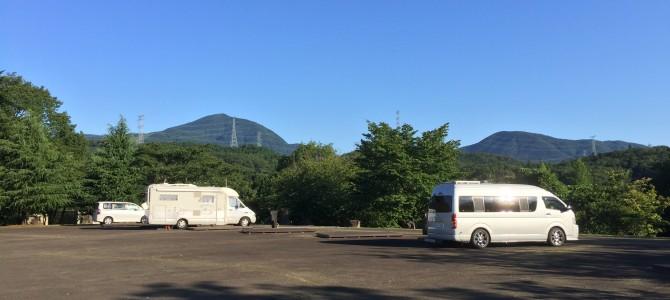 RVパーク スパ泉ヶ岳からの~女川丼