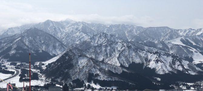 今シーズン最後の雪山