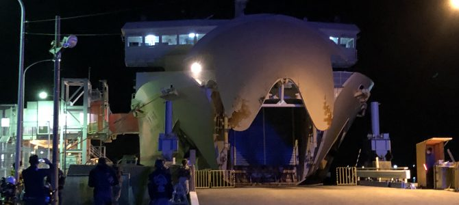 2019GW旅行記⑦愛媛~Uターン渋滞を避けてフェリー乗船