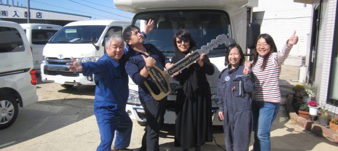 リバティ52DB 納車記念写真 A様
